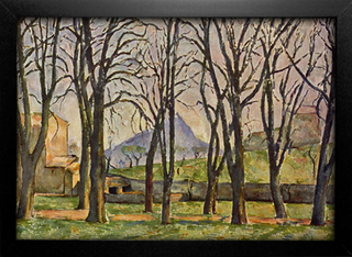 Cezanne - Chestnut Trees at the Jas de Bouffan - comprar online