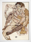 Egon Schiele - Seated Couple Egon and Edith Schiele - loja online
