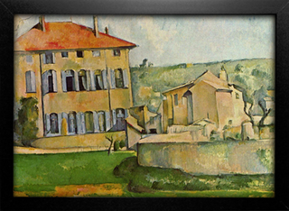 Cezanne - House and Farm at Jas de Bouffan - comprar online
