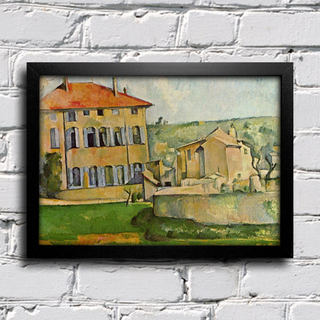 Cezanne - House and Farm at Jas de Bouffan