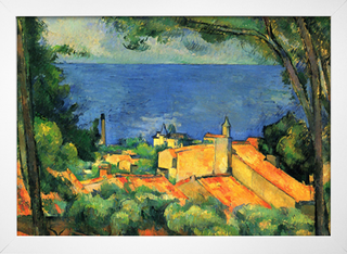 Cezanne - L'Estaque With Red Roofs - loja online