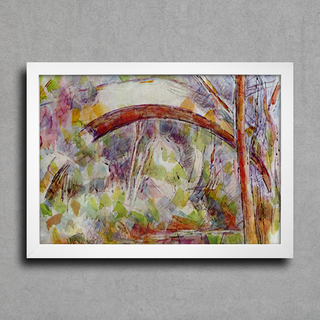 Cezanne - River With The Bridge Of The Three Sources