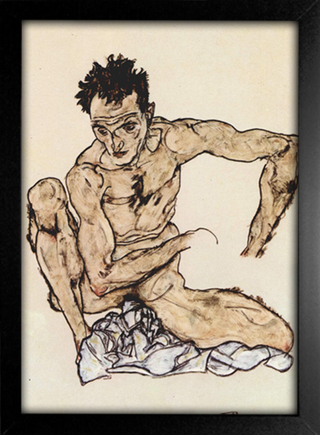 Egon Schiele - Self-Portrait II