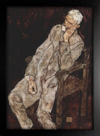 Imagem do Egon Schiele - Portrait of an Old Man Johann Harms