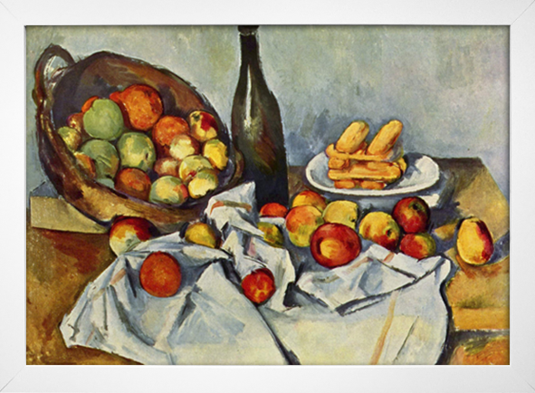 Cezanne - Still Life Drapery Pitcher and Fruit Bowl - loja online