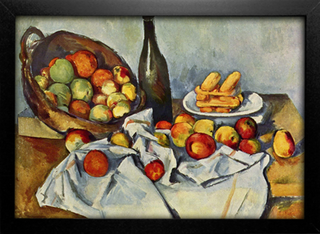 Cezanne - Still Life Drapery Pitcher and Fruit Bowl - comprar online