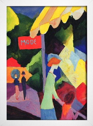 Imagem do August Macke - Fashion Store Window