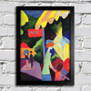 August Macke - Fashion Store Window - comprar online
