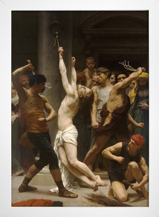 Bouguereau - Flagellation Of Our Lord Jesus Christ - loja online