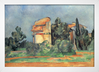 Cezanne - The Pigeon Tower At Bellevue - loja online