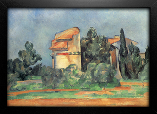 Cezanne - The Pigeon Tower At Bellevue - comprar online