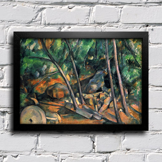 Cezanne - Woods With Millstone