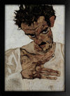 Imagem do Egon Schiele - Self-Portrait VI