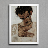 Egon Schiele - Self-Portrait VI