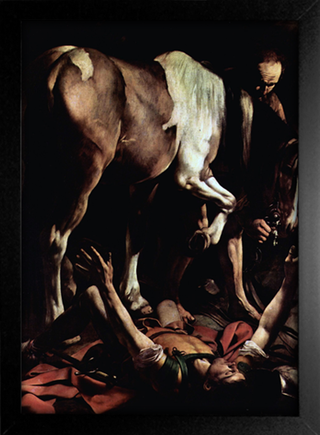 Imagem do Caravaggio - La Conversion de Saint Paul sur la Route de Damas