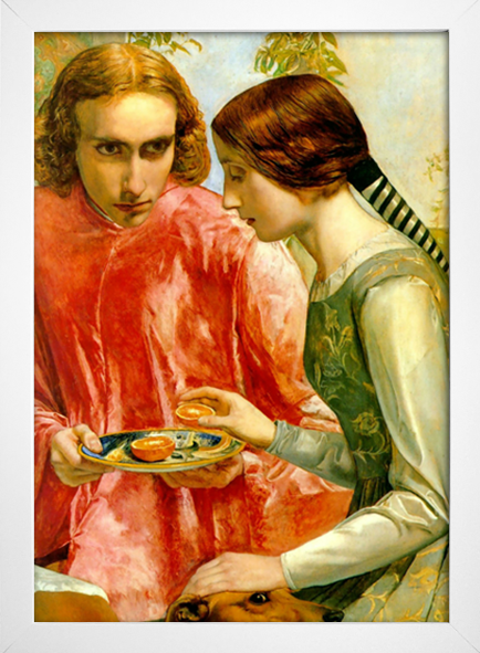 Millais - Lorenzo and Isabella Detail - loja online
