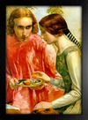 Imagem do Millais - Lorenzo and Isabella Detail