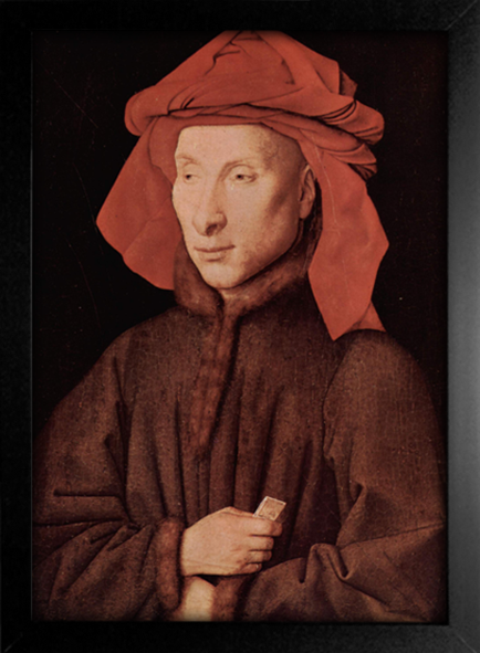 Imagem do Jan Van Eyck - Retrato de Giovanni Arnolfini