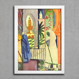August Macke - In The Temple Hall - comprar online