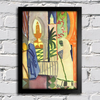 August Macke - In The Temple Hall na internet