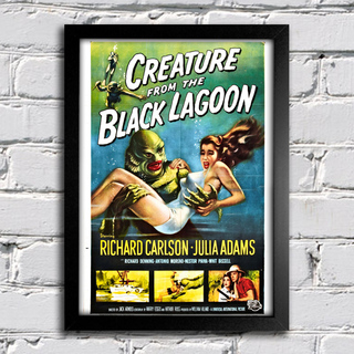 Poster Creature From The Black Lagoon - comprar online