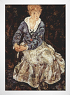 Egon Schiele - The Artist's Wife Seated - comprar online