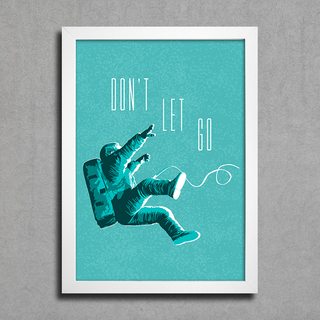 Poster Don't Let Go na internet