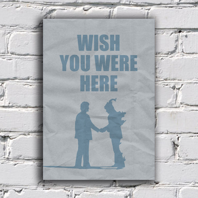 Imagem do Poster Pink Floyd - Wish You Were Here
