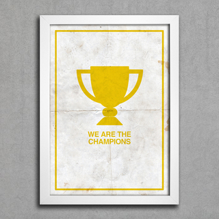 Poster Queen - We are The Champions || - comprar online