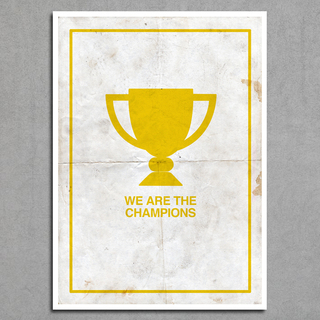 Imagem do Poster Queen - We are The Champions ||
