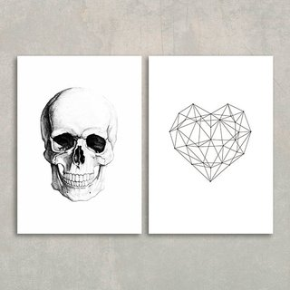 Kit Skull Heart na internet