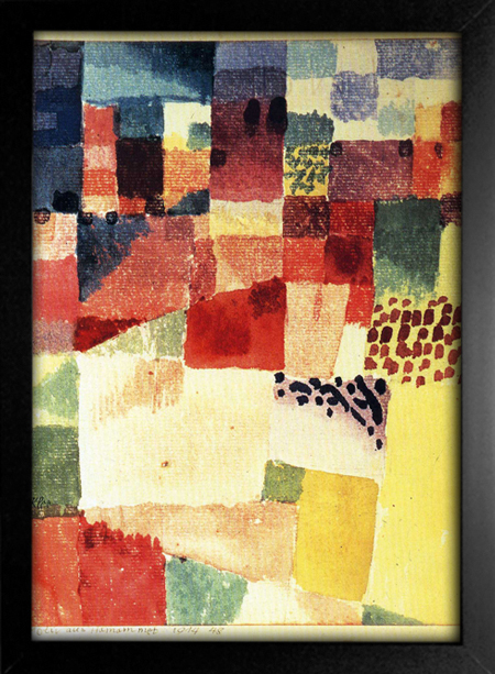 Paul Klee - Hammamet na internet