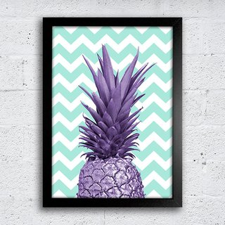 Poster Purple Pineapple - comprar online