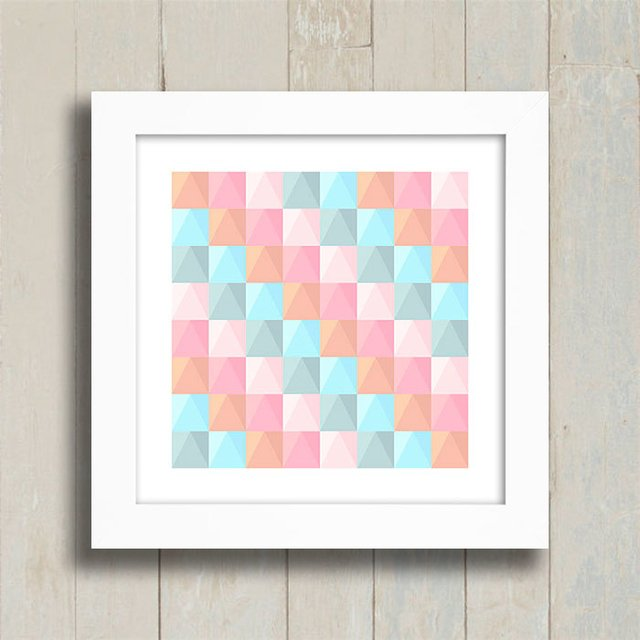 Quadro Abstract Candy color - comprar online