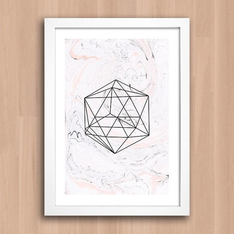 Poster Geometric Form