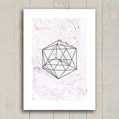 Poster Geometric Form na internet