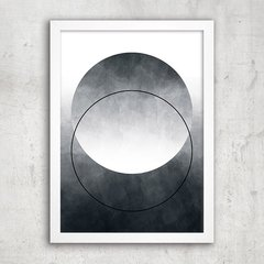 Poster Abstract Ombre Circle - comprar online