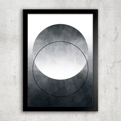 Poster Abstract Ombre Circle