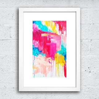 Poster Abstract Color na internet
