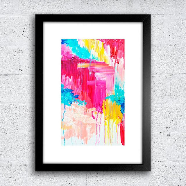 Poster Abstract Color - comprar online