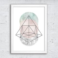 Poster Abstract Pyramid - comprar online