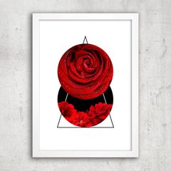 Poster Abstract Red Rose I - comprar online
