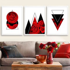 Kit Abstract Red Rose - comprar online