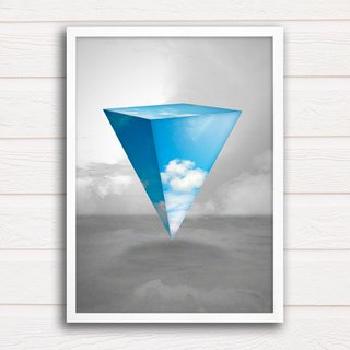 Poster Abstract Sky - loja online