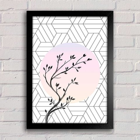Poster Abstract Tree - comprar online