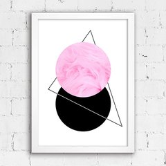 Poster Abstract Pink I - comprar online