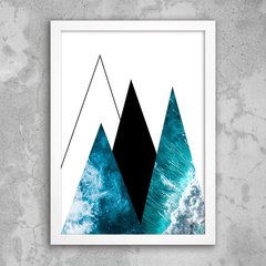 Poster Abstract Sea II - comprar online