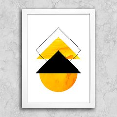 Poster Abstract Yellow I - comprar online