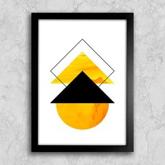 Poster Abstract Yellow I
