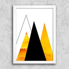 Poster Abstract Yellow II - comprar online